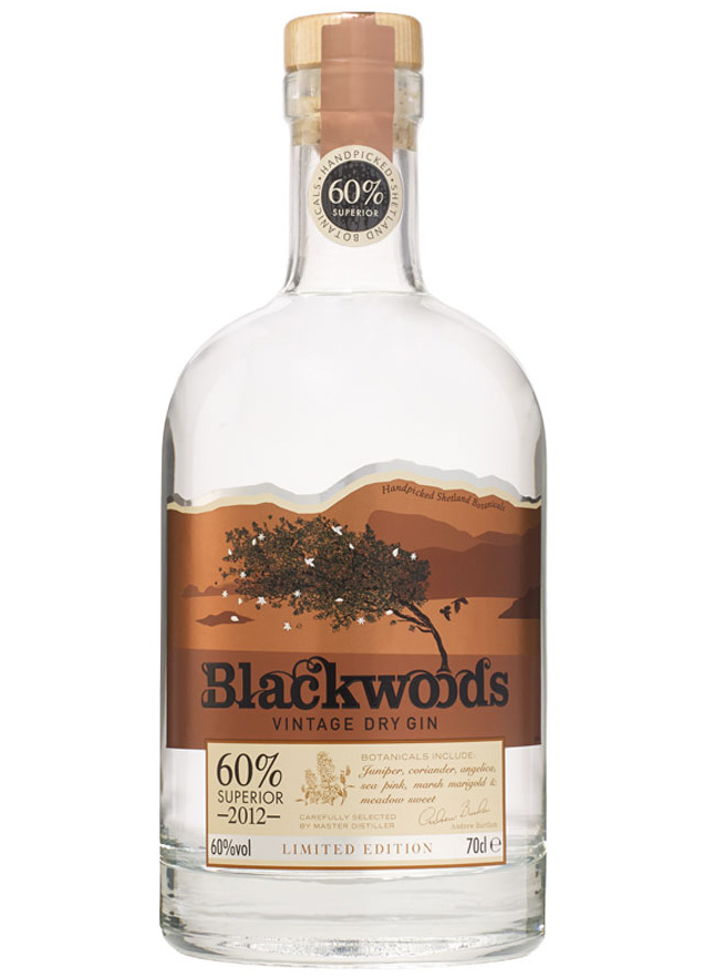 Blackwoods 2012 Vintage Dry Gin Superior Strength
